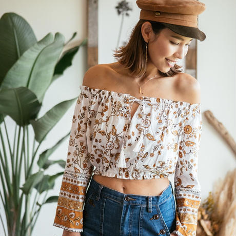 Wanderlust / Off Shoulder Top