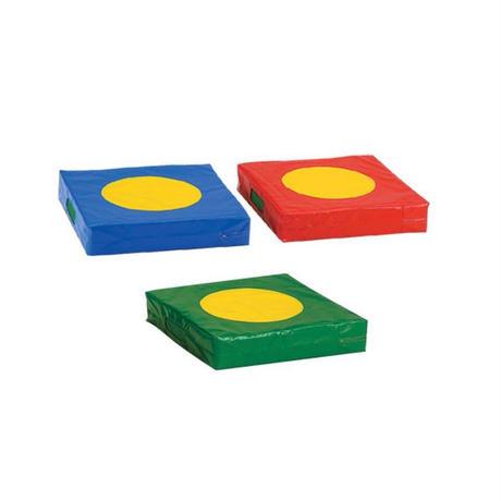 ジャンピングマット3枚セット(赤・青・緑 各1枚)