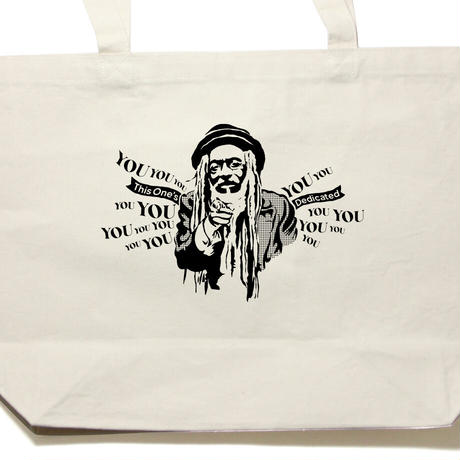 《KOTODAMA PROJECT》「THIS ONE's DEDICATED TO YOU YOU YOU」TOTO BAG 〈言霊人〉PETER MAN【1週間限定販売】