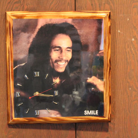 再入荷!ボブマーリー(BOB MARLEY )SMILE 壁掛け時計