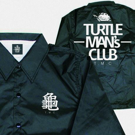 TURTLE MAN's CLUB  COACH JACKET(コーチジャケット)   【BLACK/WHITE】