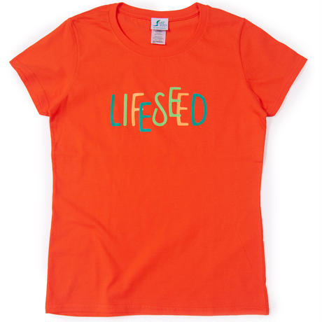 【LIFE SEED】 LOGO T-SHIRTS(FRUIT)  ※LADIES