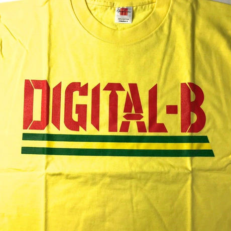 デッドストック  DIGITAL-B  OFFICIAL T-SHIRTS (YELLOW)ROCKERS ISLAND