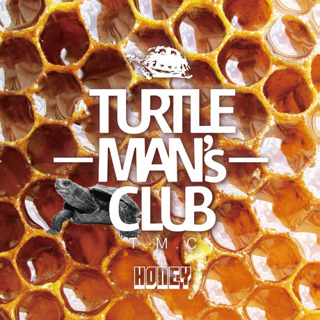 TURTLE MAN's CLUB「HONEY(UK & JAMAICA LOVER'S ROCK and LOVER SONG MIX)」 WEB限定ステッカー付