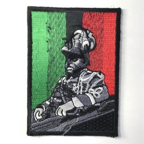 ジャマイカ直輸入 ワッペン マーカス・ガーヴェイ アイロン圧着可能
