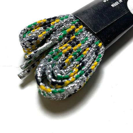ジャマイカ   キラ  ジャマイカ国旗カラー  シューレース 靴紐 DEAD STOCK