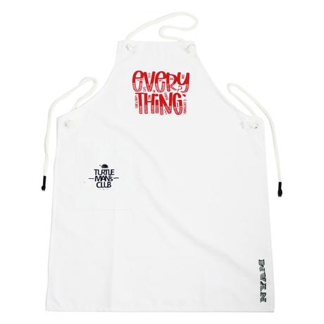 "TURTLE MAN's CLUB ""EVERYTHING"" エプロン、ZIPLOC YARDIE ステッカーセット&コースター【予約】"