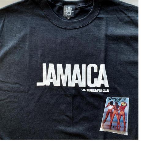 最終再入荷!【TURTLE MAN's CLUB】『JAMAICA 』T-SHIRTS 《BLACK》※オリジナルポケットテッシュ付