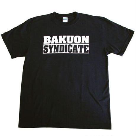 爆音 「爆音SYNDICAE OFFICIAL Tシャツ (BLACK) 原発いらんで!」M1枚限定!