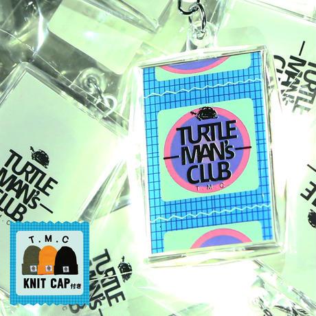 TURTLE MAN'S CLUB KEYRING [コンドーム入り]KNIT CAP付き