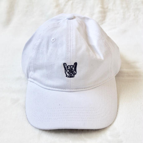 """UNRULY CAP """" HAND SIGN"""" 数量限定 6パネル【UNRULY WEAR】2色"""