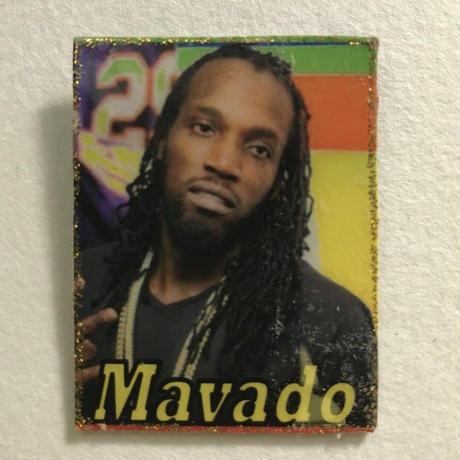 ジャマイカ直輸入  MAVADO ハンドメイドバッチ