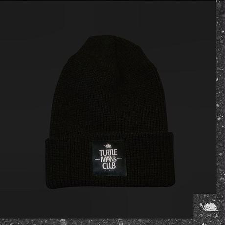 BLACK KNITCAP【TURTLE MAN'S CLUB】