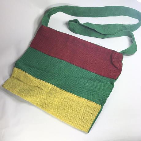 ジャマイカ直輸入  SANAA ハンドメイド ヘンプバッグ