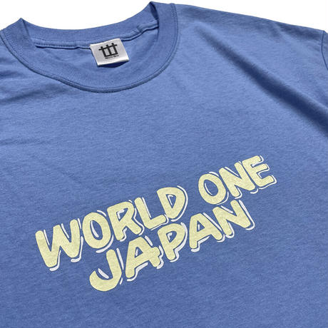 WORLD ONE JAPAN BY NURSE SIGNS TEE (CRB×P-YEL×WHT)