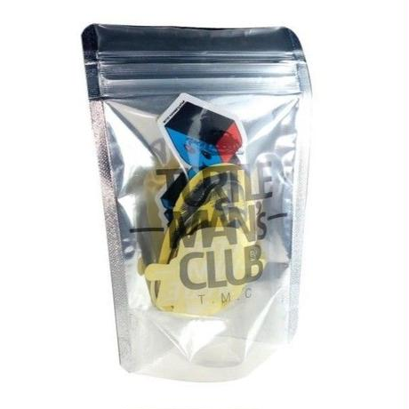 TURTLE MAN's CLUB『ZIP LOCK ステッカーセット』TURTLE MAN's CLUB MARKET限定
