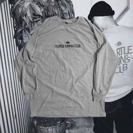 "TURTLE MAN's CLUB ""TMC復刻デザインLONG SLEEVE T-SHIRTS""  GRAY"