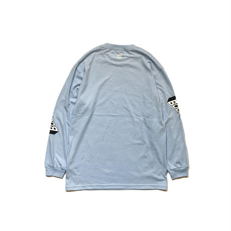 WORLD ONE【BOOMBLAST L / S TEE  】(PBL × WHT)