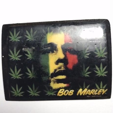 ジャマイカ直輸入  BOB MARLEY ハンドメイドバッチ