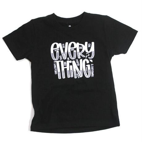 "TURTLE MAN's CLUB  ""EVERYTHING"" T-SHIRTS [BLACK]KIDS  90.110.130"