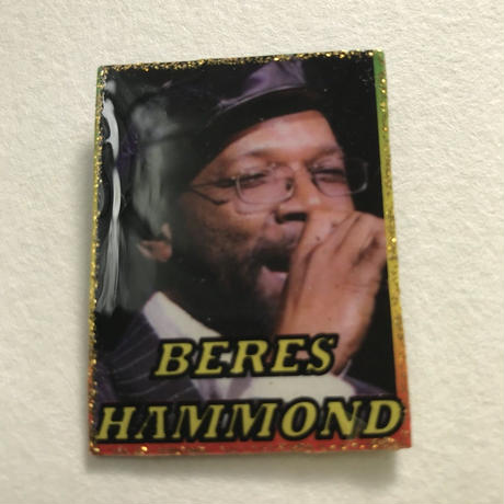 ジャマイカ直輸入 BERES HAMMOND ハンドメイドバッチ