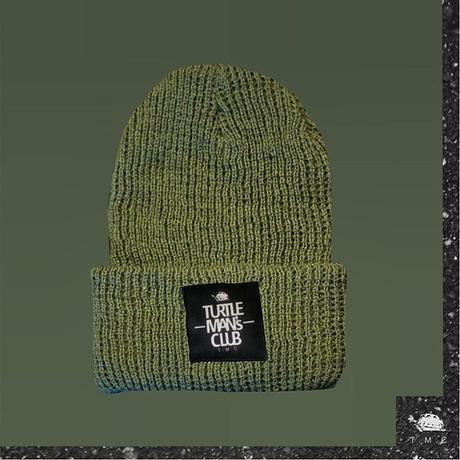 GRAY KNIT CAP【TURTLE MAN'S CLUB】
