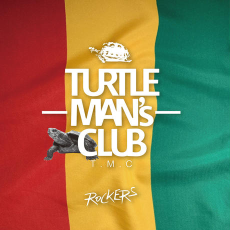 TURTLE MAN's CLUB『ROCKERS(70s ROOTS ROCK REGGAE MIX )』 WEB限定ステッカー付
