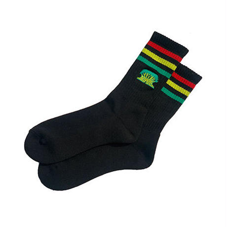 OGA [JAH WORKS] /JAH WORKS SOCKS BLACK + BEST OF THE YEAR 2020 CD SET