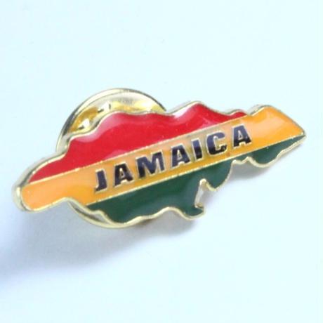 ジャマイカ直輸入 レアデッドストックピンバッチ (TURTLE MAN's CLUB MARKETオリジナルパッケージ)