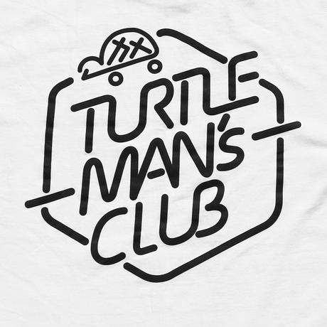 TURTLE MAN's CLUB T-SHIRTS [WHITE]