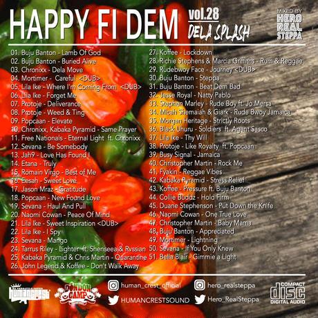 HUMAN CREST「HAPPY FI DEM vol.28  -DELA SPLASH-」