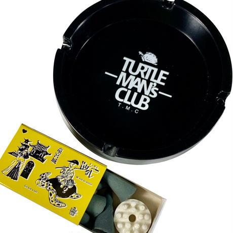 TURTLE MAN's CLUB 灰皿&マッチ箱入りお香セット