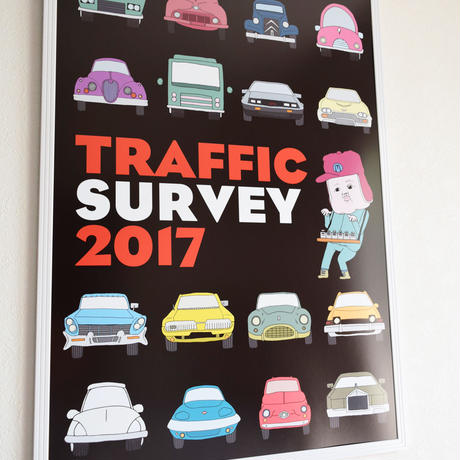 Traffic Survey 2017 ポスター