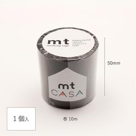 mtCASA マスキングテープ 50mm×10mマットブラック