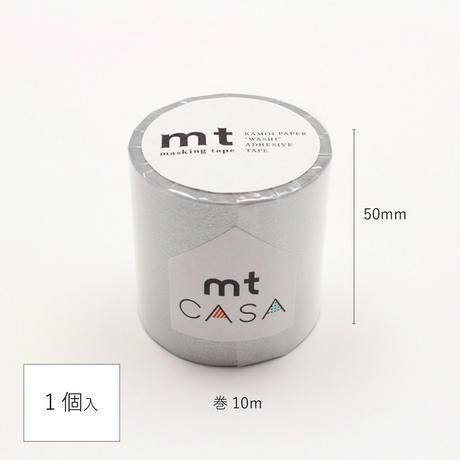 mtCASA マスキングテープ 50mm×10m 銀