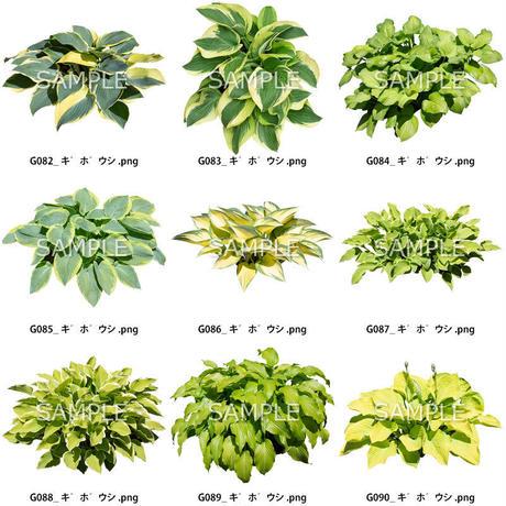 ガーデン素材 9個セット  G9_010