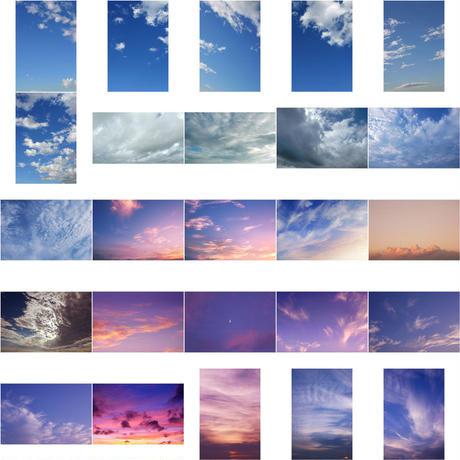 無料 - 空 素材セット 202個 sky