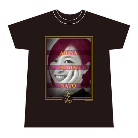 佐藤あり紗 FACE(フェイス)Tシャツ