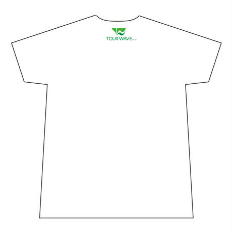 ツアー・ウェーブ オリジナル Tシャツ(白)