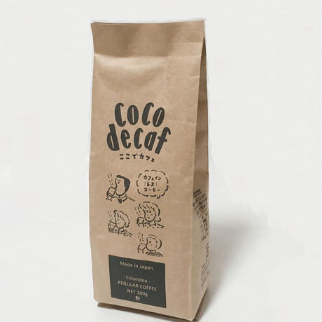 レギュラーコーヒー 豆 (200g×1パック)