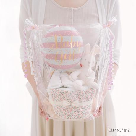 『kuta』おむつケーキ♡出産祝いギフト(知育ぬいぐるみ・おむつサイズ選べます)