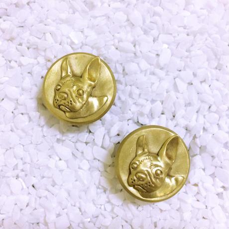 Bar end plugs - Boston Terrier (pair)
