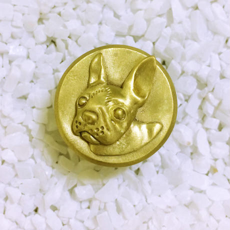 Bar end plugs - Boston Terrier (single)