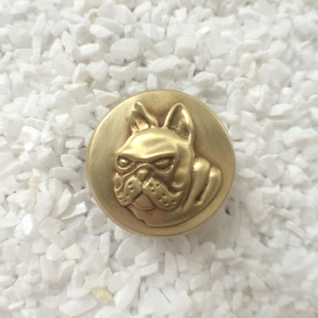 Bar end plugs - French bull dog (single)