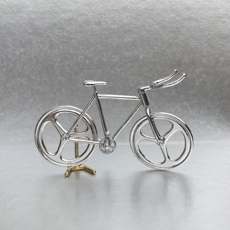 Bicycle pendant Bull horn handle - Silver