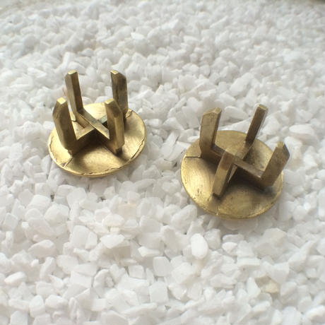 Bar end plugs - French bull dog (pair)