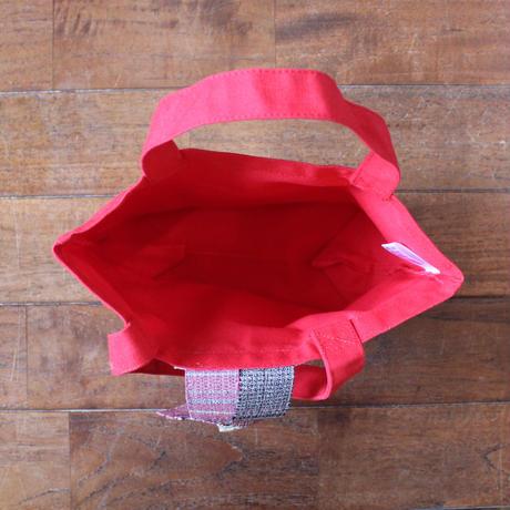 手織りランチトート