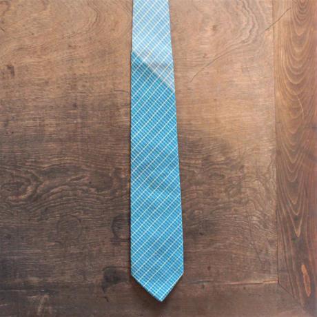 手織り*絹ネクタイ