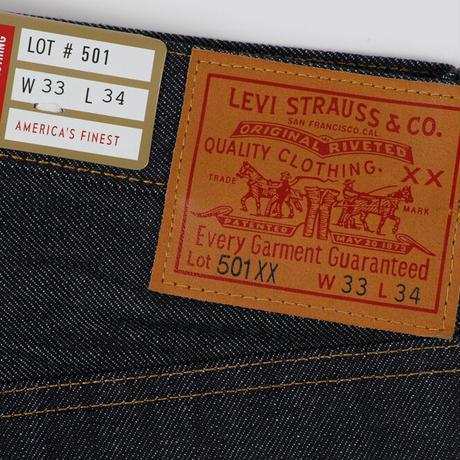 LEVI'S® VINTAGE CLOTHING 501XX(1947年モデル RIGID)