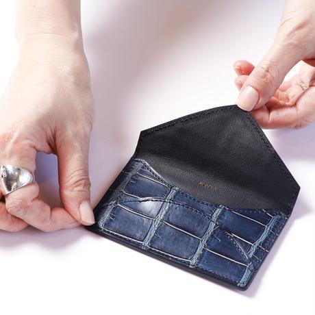SPIGOLA カードケース ① クロコダイル